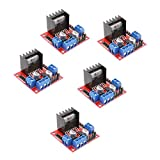 5 Stück L298N Modul H Bridge Driver Board Module für Schrittmotor Smart Car Robot DC Stepper Motor...