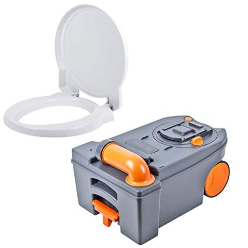 Thetford Fresh Up Set C 250/260 inkl Toilettensitz, Tank mit Rollen, Sanitärzusätze für Wohnmobil und Wohnwagen