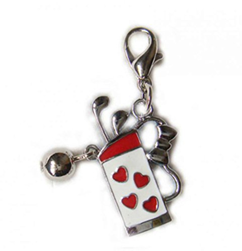 Charm Golf-Bag aus Stahl by Charming Charms