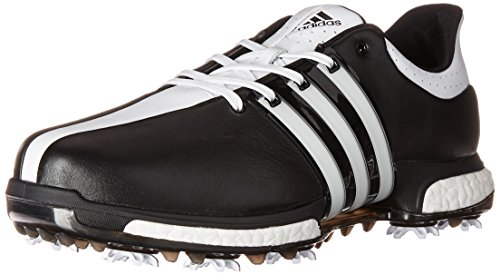 adidas Men's Tour 360 Boost WD Cblack Golf Shoe, Black, 9 2E US