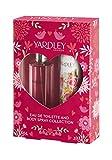 YARDLEY Coffret English Rose Eau de Toilette 50 ml + Déodorant Spray 75 ml