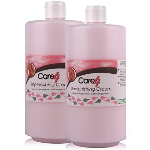 Care 4 2x 750ml Cosmetic Grade After Work Replenishing Hand Cream. A high quality cosemtice grade replenishing cream - Comes With TCH Anti-Bacterial Pen!