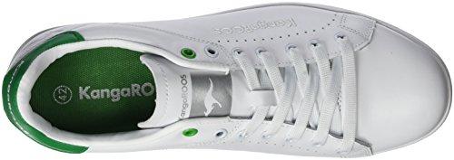KangaROOS Herren K-Class-x Fg Low-Top Weiß (white/green)