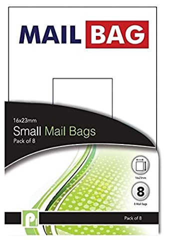16 Small Mail Bags/2 packs of 8