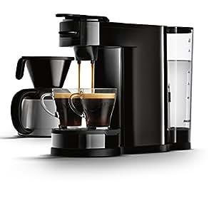 SENSEO HD7892/60 Switch 2-in-1 Kaffeemaschine für Filter und Pads, schwarz