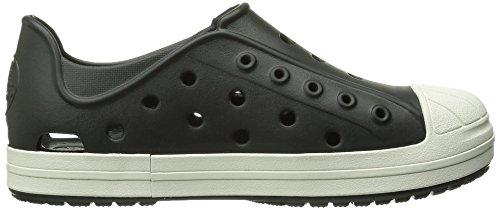 Crocs Bumper Toe, Chaussons Sneaker Mixte Enfant Noir (Black/Oyster)