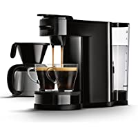 Senseo HD7892/60 Switch 2-in-1 Kaffeemaschine für Filter, Schwarz