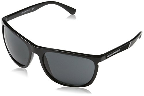 Emporio Armani Herren Earmani 4107 Sonnenbrille, Schwarz (Black), 59