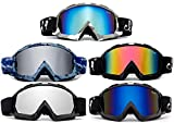 Cloud 9 - Snow Goggles Gorilla Adult Camo Anti-Fog Dual Lens UV400 Snowboarding Ski in Blue Revo
