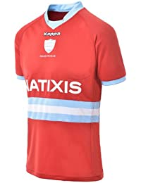 Maillot RACING METRO 92 - Collection officielle KAPPA - Rugby Top 14 - Taille adulte Homme