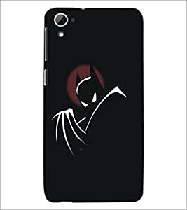 PrintDhaba Batman D-5290 Back Case Cover for HTC DESIRE 826 (Multi-Coloured)