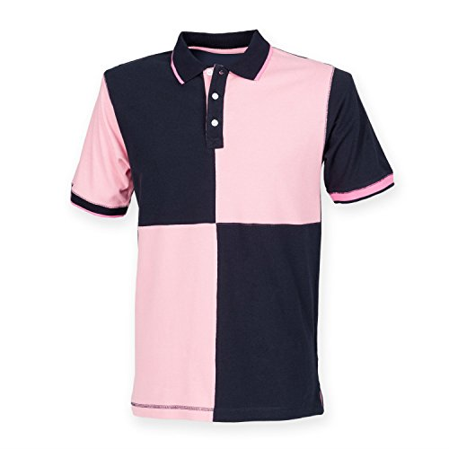 Anderem Sitzstaat sehr House Polo Shirt Mehrfarbig - Navy/Pink