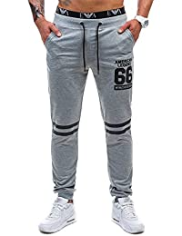 BOLF – Pantalons de sport – Joggings pantalons – STREET STAR 1071 – Homme
