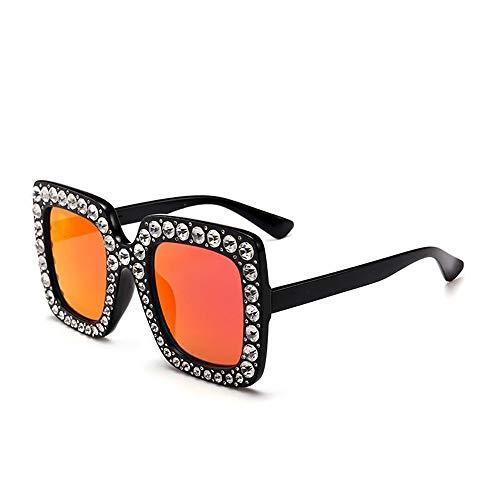 Fliegend Gafas de Sol Polarizadas para Hombre Mujer Gafas Vintage Retro con Cristal Unisex UV400 Gafas de Sol Lente Espejo Súper Ligero