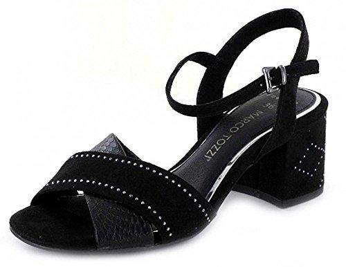 Marco Tozzi 28382-38 Sandale Femme Noir