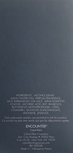 Calvin Klein Encounter homme / men, Aftershave Lotion 100 ml, 1er Pack (1 x 100 ml)