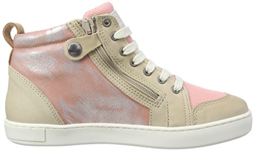 Bisgaard Unisex-Kinder Shoe with Laces High-Top Pink (154 Glitter-peach)