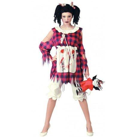 Imagen de disfraz de muñeca de trapo talla 42 44