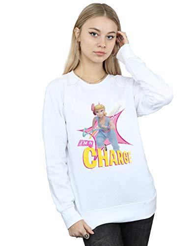 Disney Damen Toy Story 4 BO Peep In Charge Sweatshirt Weiß XX-Large (Disney Sweatshirt Damen In)