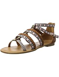 Buffalo Damen 315721 Gm S10213 Leather Pu Römersandalen