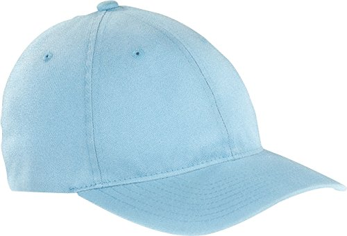 Kids Flex-fit Cap (6997 Flexfit Low Profile Garment Washed Cotton Cap - Large/X-Large (Light Blue))