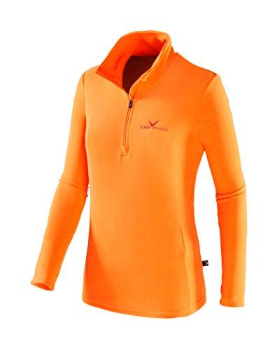 Black Crevice Damen Skirolli, orange/red, 40 -