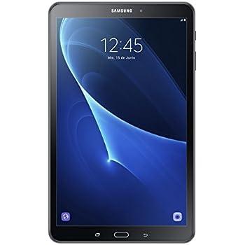 Samsung Galaxy Tab A - Tablet de 10.1 pulgadas FullHD (WiFi, Procesador Octa-core Cortex-A53, 2 GB de RAM, 16 GB de almacenamiento, Android 6.0 Marshmallow), color negro
