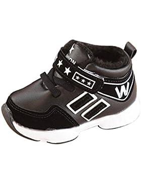 JERFER Unisex-Kinder Buchstabe Sneaker Turnschuhe Sport Laufschuhe