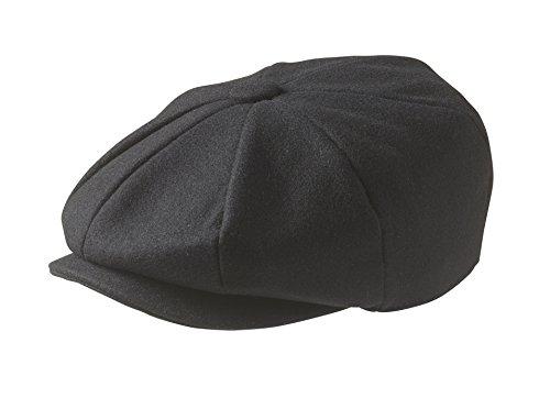peaky-blinders-8-piece-newsboy-style-flat-cap-100-wool-large-59cm-black