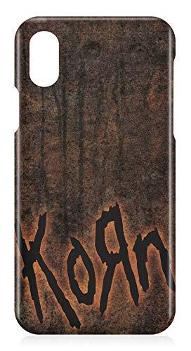 38d6576bfd7 LaMAGLIERIA Carcasa de iPhone X Korn Grunge Texture - Carcasa rigida para  Apple iPhone X