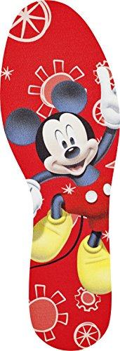 DISNEY Mickey Einlegesohle zum Zuschneiden für Kinder und Jugendliche, hält die Füße schön frisch, 1er Pack (1 x 2 Stück)