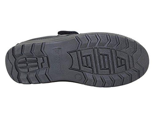 Foster Footwear ,  Damen Herren Jungen Slipper Black-V
