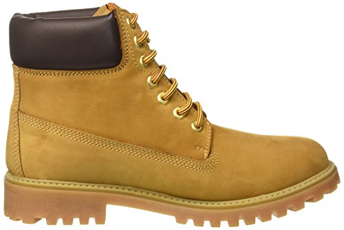 Lumberjack River, Baskets Hautes Homme Giallo (M0001 Yellow/Dk Brown)