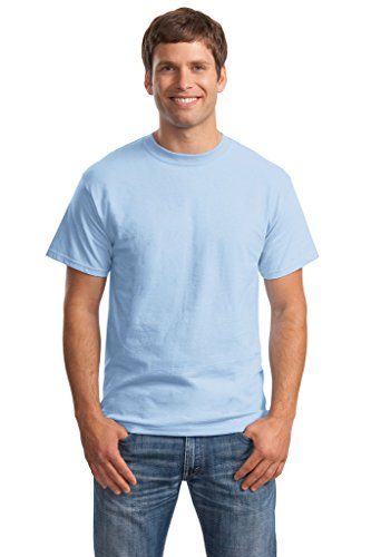 Hanes Big Mens Born to Be Worn 100% Cotton T-Shirt Light Blue