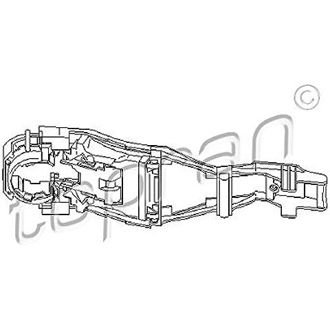 Topran maniglia per porta, 111186 - Volkswagen Anteriore Maniglia