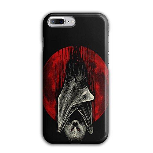 Blut Mond Vampir Schläger Tier iPhone 8 Plus Hülle | (Und Blut Zubehör Sachen Vampir)