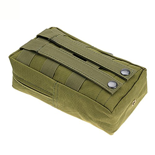 nighteyes66Nylon Outdoor Tactical MOLLE UTILITY Tasche Camping Jagd Militär Combat Taille Pouch Bag armee-grün