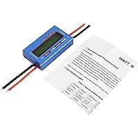 Lorenlli Digital Balance Voltage Watt Watt Aktuelle Energie Meter Analyzer Tester Checker für RC Drone Batterie 60 V 100A Wattmeter