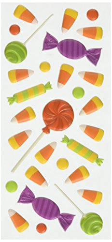 ions Halloween Candy 3D 'Puffy Sticker, ()