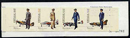 Booklet - Portugal 1984 Air Force Uniforms 142E booklet complete and very fine, SG SB24 AVIATION MILITARIA UNIFORMS JandRStamps