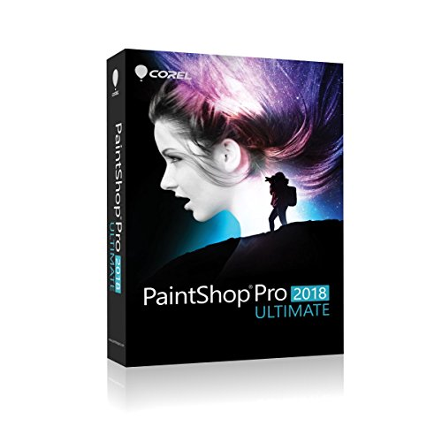 Corel PaintShop Pro 2018 | Ultimate | Disc
