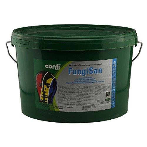 Conti FungiSan - Schimmelschutz für Feuchträume - Anti Schimmel Farbe - Innenfarbe (5 Liter)