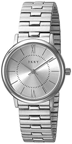 DKNY Womens Analog-Quartz Watch with Stainless-Steel Strap NY2547