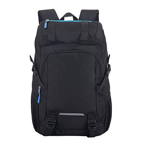 TUOZA Sacchetto Di Alpinismo Esterno Di Grande Capacità Borsa Da Viaggio,Blue-OneSize Black
