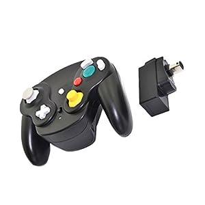 MagiDeal Wireless Controller Adapter Spiel Steuerung für Nintendo GameCube/Wii/Wii U