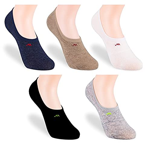 5 Pairs Ankle socks,IDEGG®Women girls ankle high low cut no