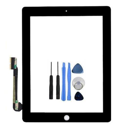 BisLinks® Touchscreen Glasdisplay Digitizer Ersatz für iPad 4 Schwarz 4G 4. Gen
