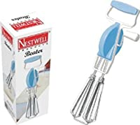Vepson Nestwell Beater Mixer Stainless Steel Hand Blender/ Useful for Egg & Cake Beater Blender Mixer