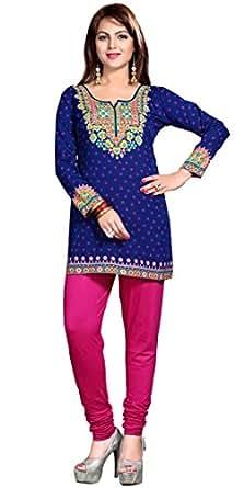 Maple abbigliamento donna stampato brevi kurti top vestiti for Amazon offerte abbigliamento