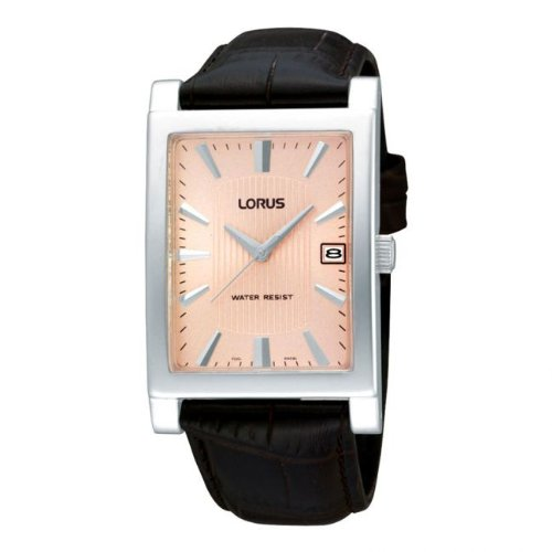 Lorus Gents Leather Strap Watch RH941CX9
